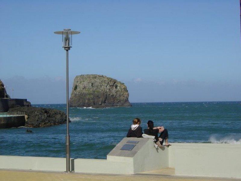 Das war auch an der Nordküste, ich glaube in Seixal (?)