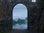 Die Welle klopft ans Tor...
