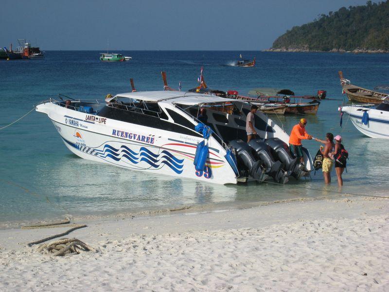 Das Speedboat nach Lanta