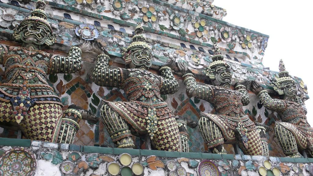 Wat Arun - Detail
